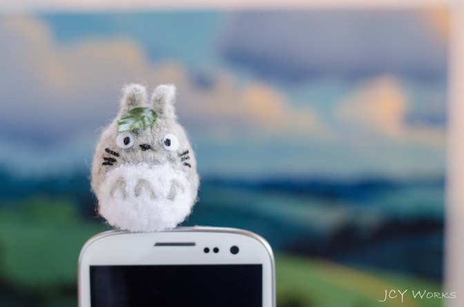 Totoro: A Forest Spirit and… A Cell Phone Guardian!